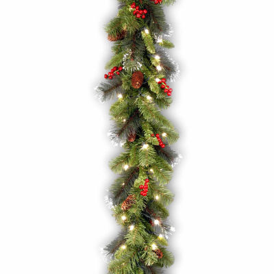 National Tree Co. Crestwood Spruce Indoor/Outdoor Christmas Garland