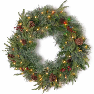 National Tree Co. Colonial Feel Real Indoor/Outdoor Christmas Wreath