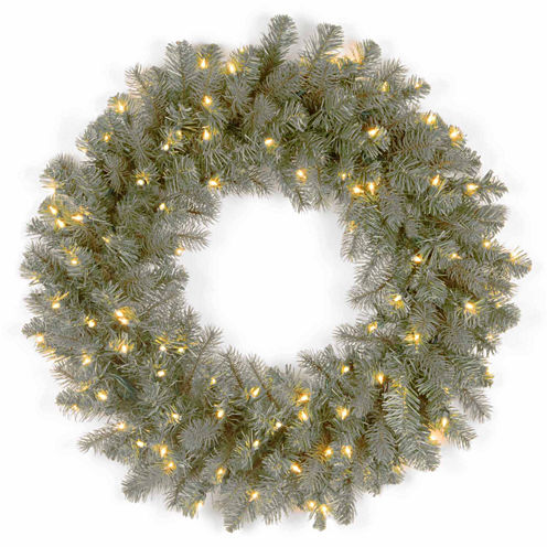 National Tree Co. Downswept Douglas Blue Feel Real Indoor/Outdoor Christmas Wreath