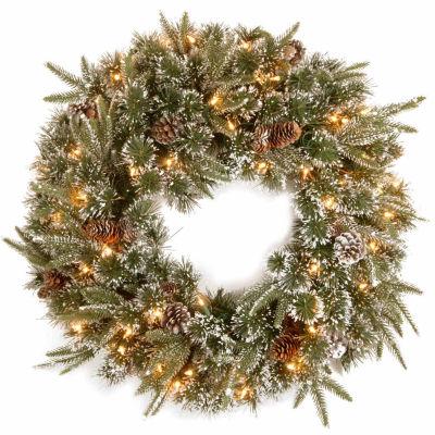 National Tree Co. Liberty Pine Feel Real Indoor/Outdoor Christmas Wreath