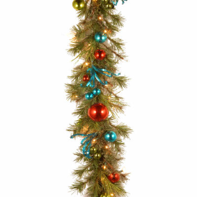 National Tree Co. Retro Christmas Garland
