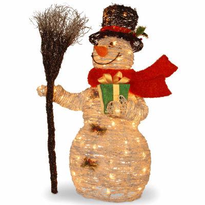National Tree Co. Snowman Christmas Holiday Yard Art