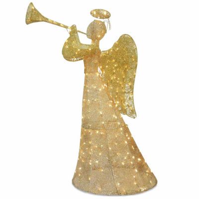 National Tree Co. Trumpeting Angel Holiday Yard Art