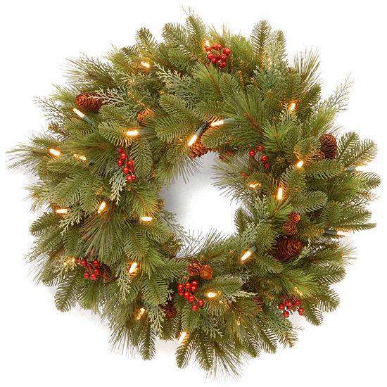 National Tree Co. Noelle Indoor/Outdoor Christmas Wreath
