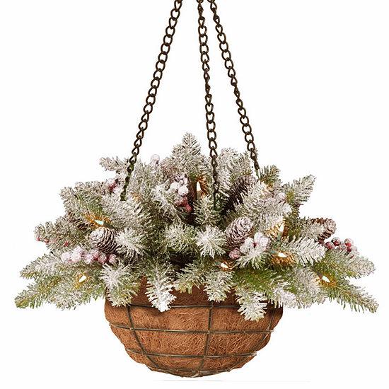 National Tree Co. Dunhill Christmas Hanging Basket