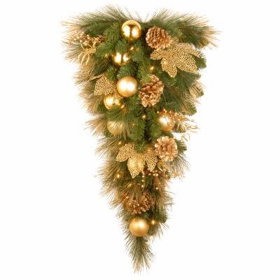 National Tree Co. Elegance Teardrop Christmas Holiday Yard Art