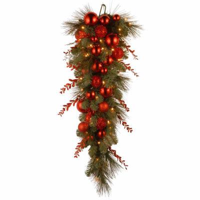 National Tree Co. Christmas Mix Teardrop Holiday Yard Art