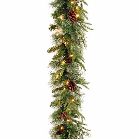 National Tree Co. Colonial Feel Real Indoor/Outdoor Christmas Garland