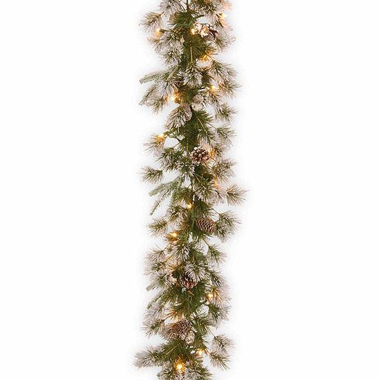 National Tree Co. Liberty Pine Feel Real Indoor/Outdoor Christmas Garland