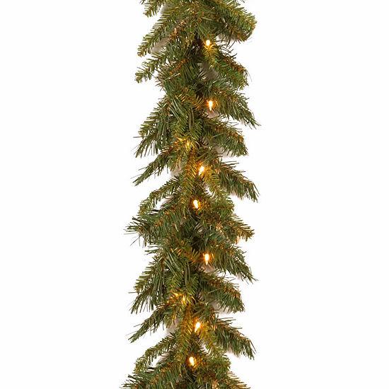 National Tree Co. Tiffany Fir Indoor/Outdoor Christmas Garland