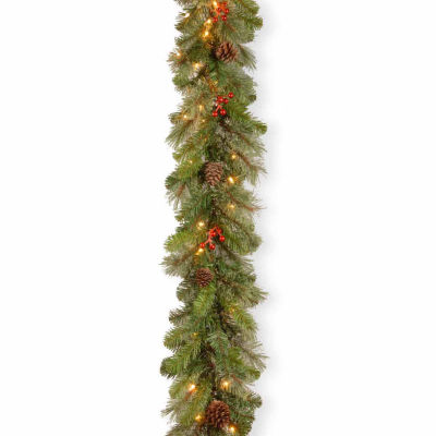 National Tree Co. Cashmere Berry Christmas Garland