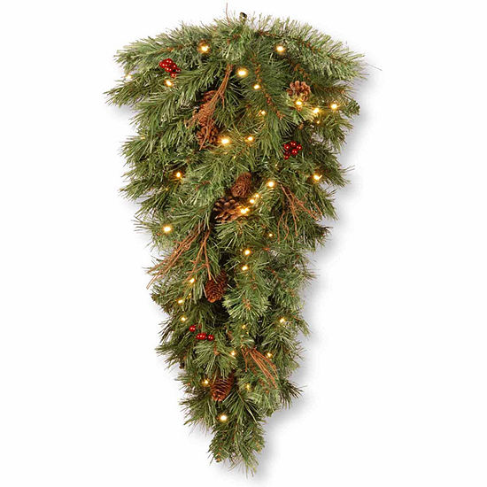 National Tree Co. Glistening Pine Christmas Holiday Yard Art