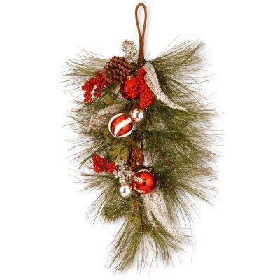 National Tree Co. Christmas Teardrop Holiday Yard Art