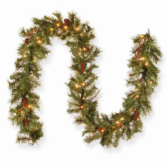 National Tree Co. Glistening Pine Indoor/Outdoor Christmas Garland