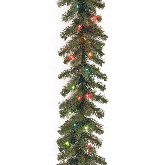 National Tree Co Kincaid Spruce Indoor Outdoor Christmas Garland