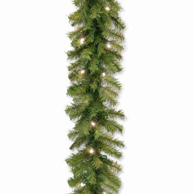 National Tree Co. Norwood Fir Dual Color Indoor/Outdoor Christmas Garland
