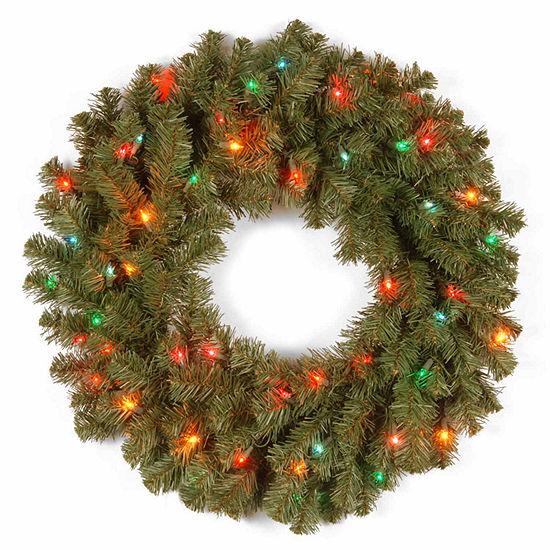 National Tree Co. Kincaid Spruce Indoor/Outdoor Christmas Wreath