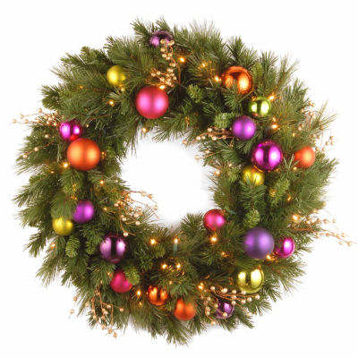 National Tree Co. Kaleidoscope Indoor/Outdoor Christmas Wreath