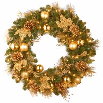 National Tree Co. Elegance Indoor/Outdoor Christmas Wreath