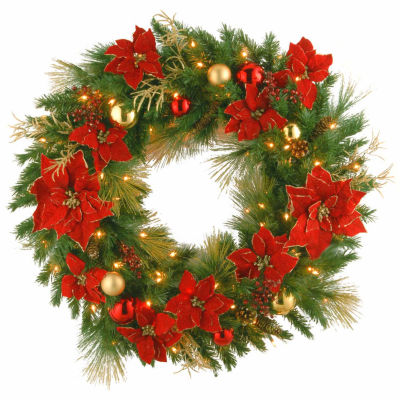 National Tree Co. Home Spun Indoor/Outdoor Christmas Wreath
