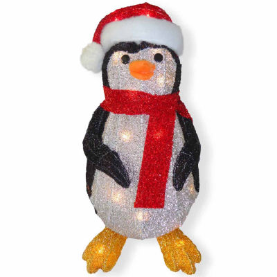 National Tree Co. Fabric Penguin Animal Figurines
