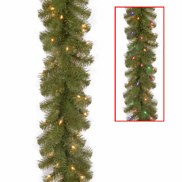 National Tree Co. North Valley Spruce Christmas Garland