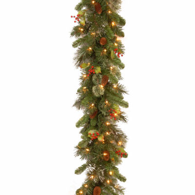 National Tree Co. Wintry Pine Christmas Garland