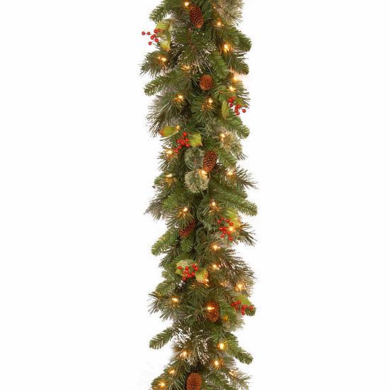 National Tree Co. Wintry Pine Indoor/Outdoor Christmas Garland