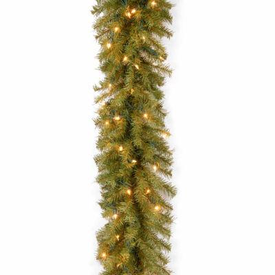 National Tree Co. Norwood Fir Indoor/Outdoor Christmas Garland