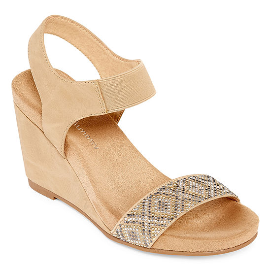 CL by Laundry Womens Tafee Wedge Sandals