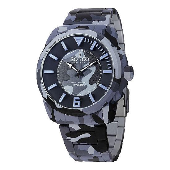 So & Co Mens Blue Bracelet Watch-Jp15040