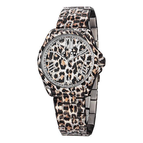 So & Co Womens Two Tone Stainless Steel Bracelet Watch-Jp15044