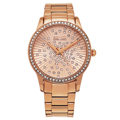 So & Co Womens Rose Goldtone Bracelet Watch-Jp16023