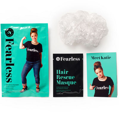 Beauty & Pin-Ups Fearless Hair Rescue Treatment Pouch - 1 Oz.