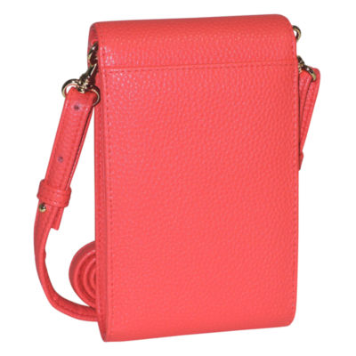 Buxton Cell Phone Crossbody RFID Blocking Wallet