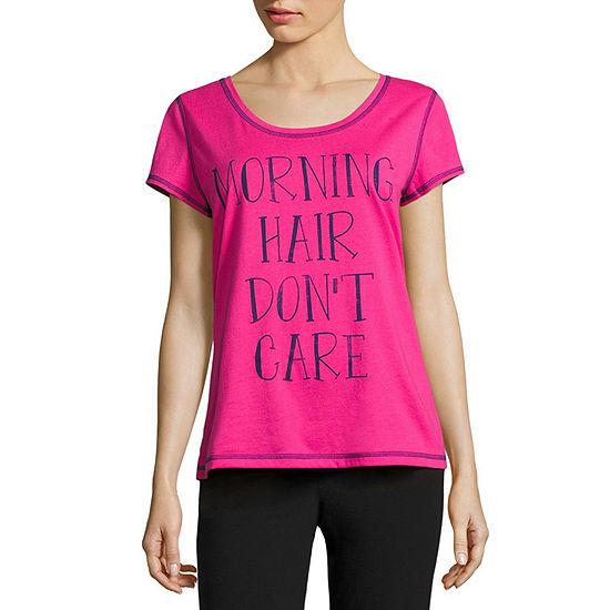 Sleep Chic Womens Pajama Top