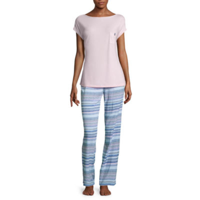 Liz Claiborne 2-pc. Stripe Pant Pajama Set