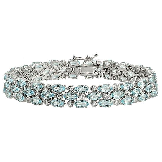Sterling Silver 7.25 Inch Link Bracelet