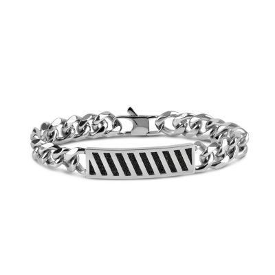 Stainless Steel Solid Id Bracelet