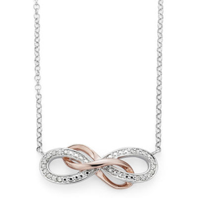 Infinite Promise Sterling Silver 18 Inch Chain Necklace