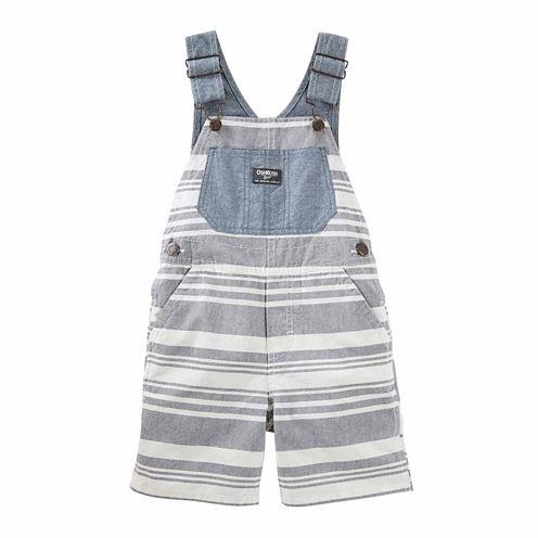 Oshkosh Stripe Shortalls - Baby