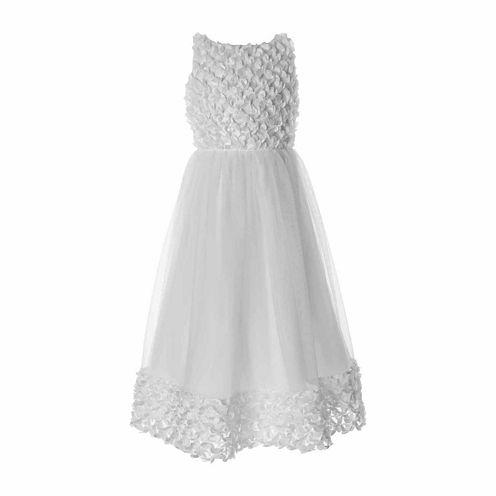 Keepsake Soutache Bodice Flower Girl Dress - Girls' 6X-14 and Plus