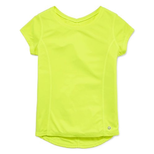 Xersion Short Sleeve Solid Performance T-Shirt - Girls' 7-16 and Plus