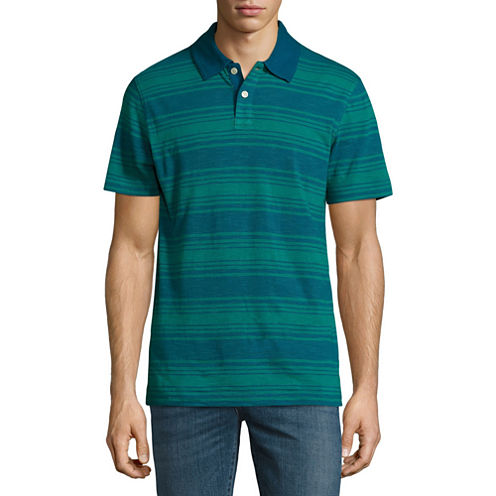 Arizona Stripe Jersey Polo Shirt