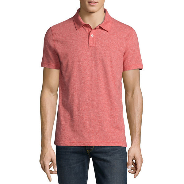 Arizona short sleeve jersey polo shirt jcpenney for Jcpenney ladies polo shirts
