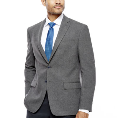 Collection by Michael Strahan Grey Flannel Sport Coat-Classic