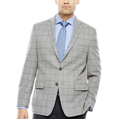 Collection by Michael Strahan Grey WP Sport Coat-Classic Fit