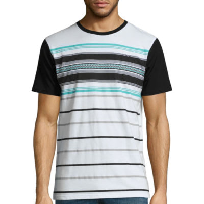 Zoo York Short Sleeve Logo Stripe Graphic T-Shirt
