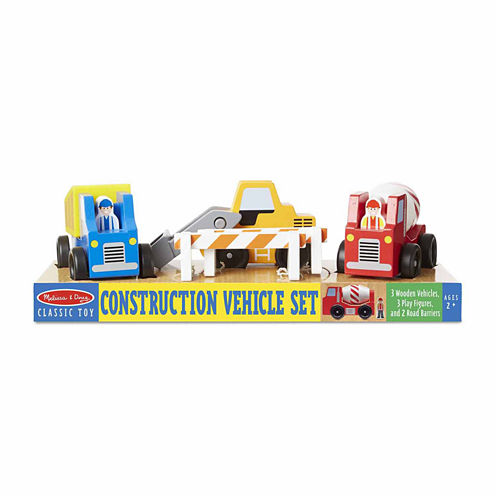 Melissa & Doug?? Construction Vehicle Set