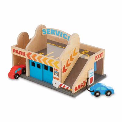 Melissa & Doug® Service Station Parking Garage